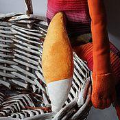 Куклы и игрушки ручной работы. Ярмарка Мастеров - ручная работа Лис в штаннах. Handmade.