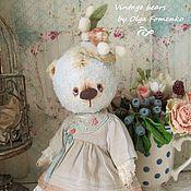 Куклы и игрушки ручной работы. Ярмарка Мастеров - ручная работа Мишка Дина. Handmade.