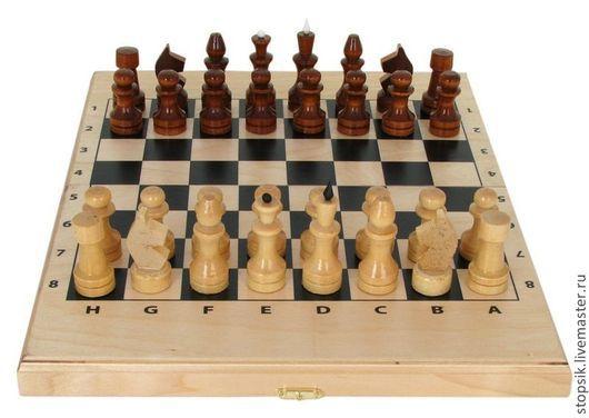 Настольные игры ручной работы. Ярмарка Мастеров - ручная работа. Купить Шахматы, нарды, шашки Миниатюра (светлые) 10552. Handmade.