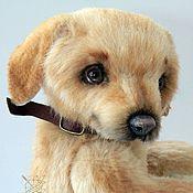 Куклы и игрушки ручной работы. Ярмарка Мастеров - ручная работа Тедди собака лабрадор. Handmade.