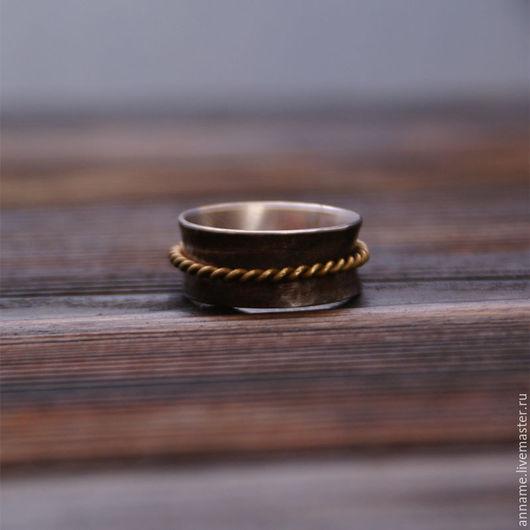 """Кольца ручной работы. Ярмарка Мастеров - ручная работа. Купить Кольцо """"Spin"""". Handmade. Серебряный, колечко, бохо, бохо украшения"""