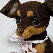 """Куклы и игрушки ручной работы. Ярмарка Мастеров - ручная работа Той-терьер """"Дора"""". Handmade."""