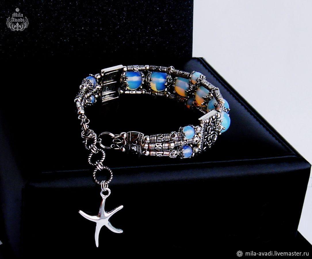 124a6a7e69 Exclusive jewelry (mila-avadi Bracelets handmade. handmade bracelet Opalite  Shambhala Tibetan. Exclusive jewelry (mila-avadi) ...