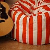 """Для дома и интерьера ручной работы. Ярмарка Мастеров - ручная работа Кресло-мешок """"Мандарины с молоком"""". Handmade."""