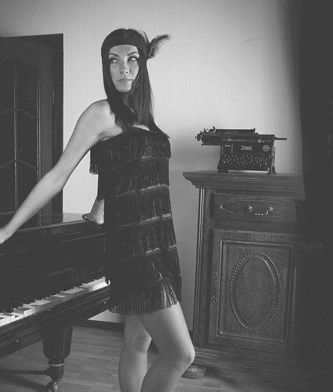 Платье стиль чикаго купить в москве