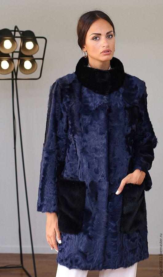 Верхняя одежда ручной работы. Ярмарка Мастеров - ручная работа. Купить Пальто из каракуля. Handmade. Пальто женское, меховые изделия