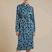 Платья ручной работы. Ярмарка Мастеров - ручная работа Шикарное летнее платье рубашка. Handmade.