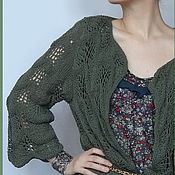 Одежда handmade. Livemaster - original item Knitted jacket women`s