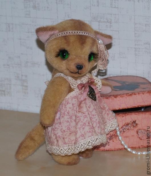 Мишки Тедди ручной работы. Ярмарка Мастеров - ручная работа. Купить Кошечка Николь. Handmade. Рыжий, котенок, подарок