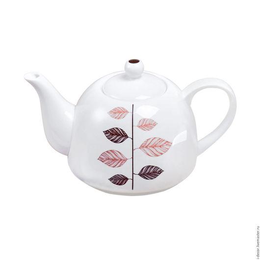Заварочный чайник из коллекции Стебель Фарфоровая посуда
