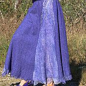 """Одежда ручной работы. Ярмарка Мастеров - ручная работа Валяная юбка  """"Звёздный дождь"""". Handmade."""