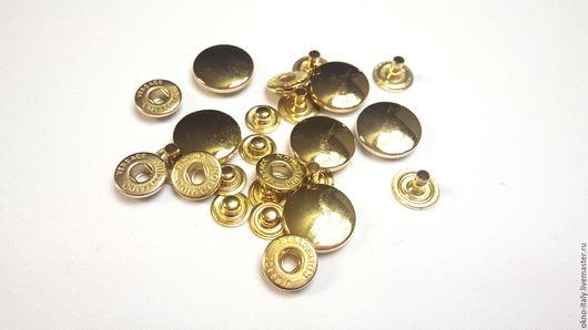 Шитье ручной работы. Ярмарка Мастеров - ручная работа. Купить Кнопки «Versace», 17 мм, 6 штук. Handmade. Золотой