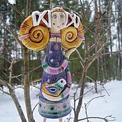 Сувениры и подарки handmade. Livemaster - original item Ceramic bells in a series of