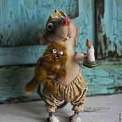 """Куклы и игрушки ручной работы. Ярмарка Мастеров - ручная работа """"Не бойся, я с тобой!"""". Handmade."""
