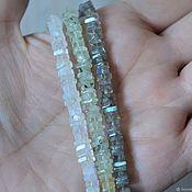 Материалы для творчества handmade. Livemaster - original item Stones natural chips 4-5mm, string 11cm. Handmade.