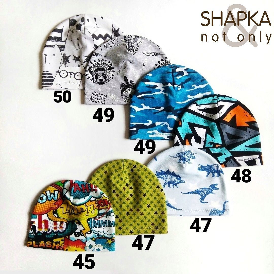 Летние шапочки из трикотажа, Шапки, Химки, Фото №1