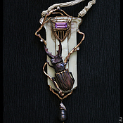 Украшения ручной работы. Ярмарка Мастеров - ручная работа Lucanus Luciferum. Handmade.