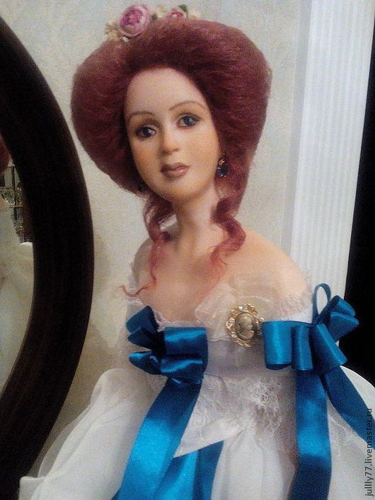 Коллекционные куклы ручной работы. Ярмарка Мастеров - ручная работа. Купить Эмма. Handmade. Белый, оригинальный подарок