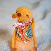 Куклы и игрушки ручной работы. Ярмарка Мастеров - ручная работа Солнечный пушистик. Handmade.