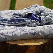 Слинги ручной работы. Ярмарка Мастеров - ручная работа Слинг с кольцами синий. Handmade.