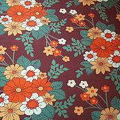 Материалы для творчества handmade. Livemaster - original item Cotton fabric
