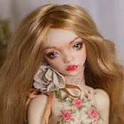 Куклы и игрушки ручной работы. Ярмарка Мастеров - ручная работа Продана. Аннет, шарнирная  кукла. Handmade.
