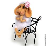 Куклы и игрушки ручной работы. Ярмарка Мастеров - ручная работа Овечка Софочка. Валяная игрушка. Handmade.