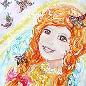 Картины и панно handmade. Livemaster - original item Painting for a child`s