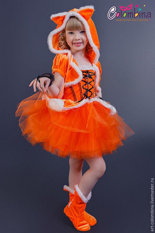 Купить костюм лисички, лисы - рыжий, костюм лисы, костюм ... - photo#19