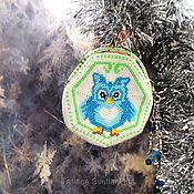 Сумки и аксессуары handmade. Livemaster - original item Coin Purse Owlet Music Lover. Handmade.
