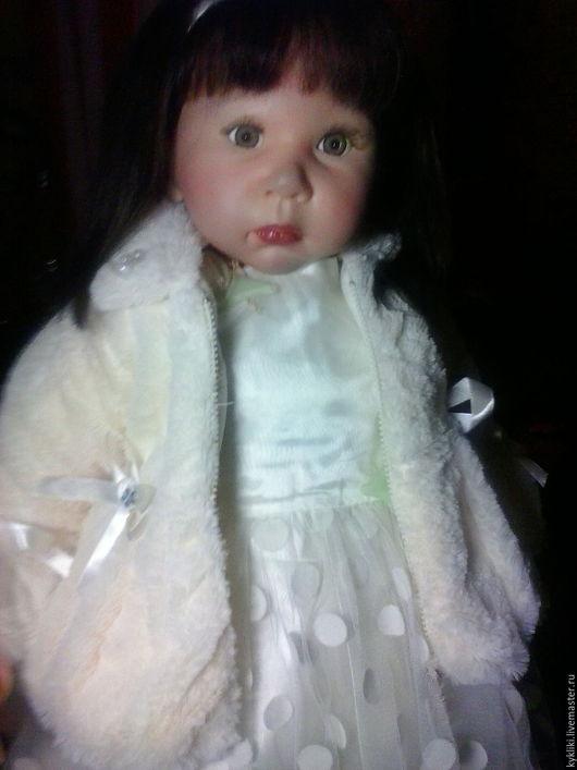 Куклы-младенцы и reborn ручной работы. Ярмарка Мастеров - ручная работа. Купить Ириска. Handmade. Бежевый, для игры, для интерьера, мех