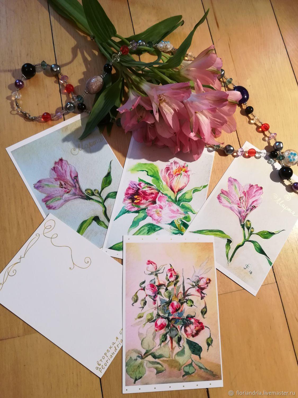 Мая шкатулка, авторские открытки галина