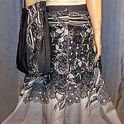 Одежда handmade. Livemaster - original item Skirts: Six-piece skirt made of cotton poplin (coupon). Handmade.
