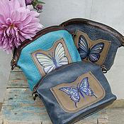 Сумки и аксессуары handmade. Livemaster - original item Cosmetic Bag Butterfly. Handmade.