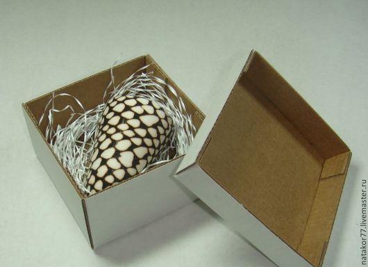 Персональные подарки ручной работы. Ярмарка Мастеров - ручная работа. Купить коробочка для упаковки  подарков. Handmade. Белый, коробочка для подарка