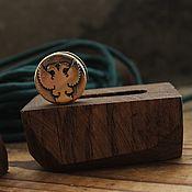 Сувениры и подарки handmade. Livemaster - original item Eagle lanyard bead, knife share bead, lanyard bead. Handmade.
