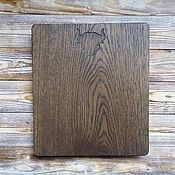 Посуда handmade. Livemaster - original item Cutting Board Bull. Handmade.