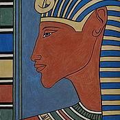 Картины и панно ручной работы. Ярмарка Мастеров - ручная работа Картина «Фараон».. Handmade.