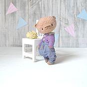 Куклы и игрушки ручной работы. Ярмарка Мастеров - ручная работа Мишка  тедди Илюша. Handmade.