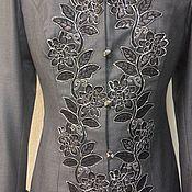 Одежда ручной работы. Ярмарка Мастеров - ручная работа Костюм с юбкой и отделкой кружевом. Handmade.