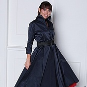 Одежда handmade. Livemaster - original item Retro dress in the style of the 50s