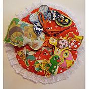 Куклы и игрушки ручной работы. Ярмарка Мастеров - ручная работа Развивающий коврик - Волшебная полянка. Handmade.