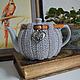 грелка, чайник, заварочный чайник, посуда,чайник с грелкой, посуда для кухни, сервировка стола, грелка на чайник, вязаная грелка, красивая посуда, новоселье, уютный дом кухня , 8 марта, заварник, маме