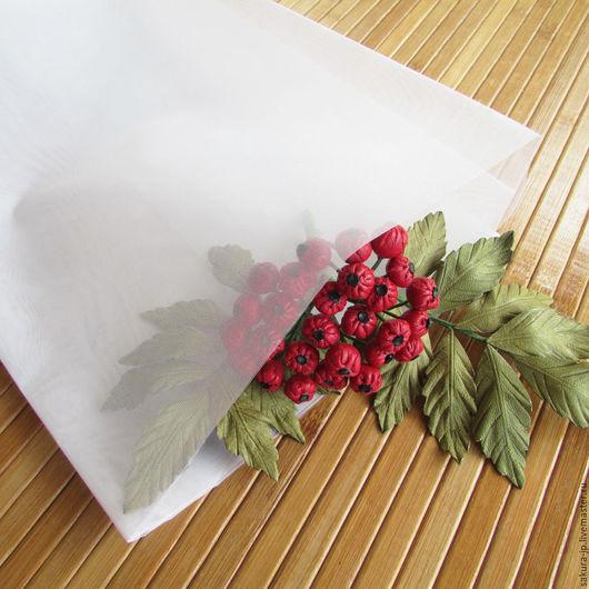Усукиню (Усу). Японская ткань для цветов. САКУРА - материалы для цветоделия.