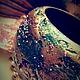 """Браслеты ручной работы. Ярмарка Мастеров - ручная работа. Купить Браслет деревянный """"Этнический"""" Бирюзовый Золотой Бохо. Handmade. Разноцветный"""