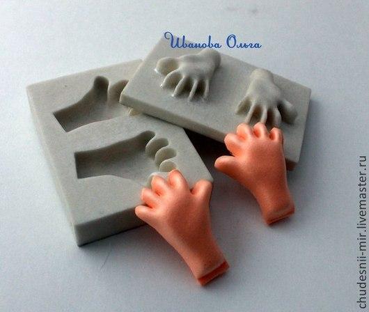 Другие виды рукоделия ручной работы. Ярмарка Мастеров - ручная работа. Купить Молд рук для фом эва. Handmade. Серый