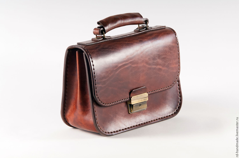 464c5548c0c9 Мужские сумки ручной работы. Ярмарка Мастеров - ручная работа. Купить  Барсетка мужская классическая из ...