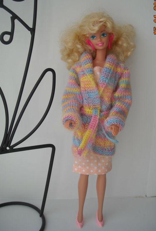 Одежда для кукол ручной работы. Ярмарка Мастеров - ручная работа. Купить одежда для кукол. кофта для Барби. одежда для барби. купить комплект. Handmade.