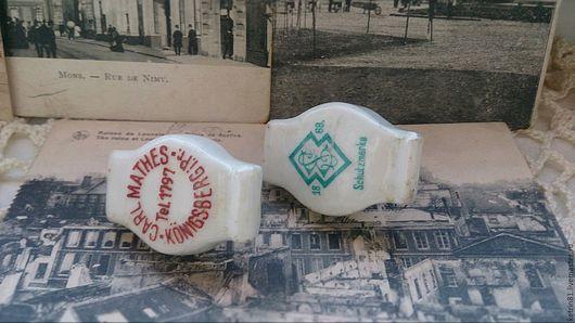Винтажные сувениры. Ярмарка Мастеров - ручная работа. Купить Антикварные керамические пробки (Германия). Handmade. Керамика, старина, винтажный стиль