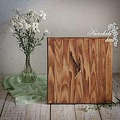 Для дома и интерьера ручной работы. Ярмарка Мастеров - ручная работа Часы настенные Wooden Time. Handmade.